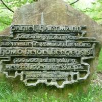 Gedenkstein Homo Heidelbergensis