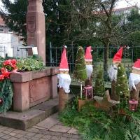 Weihnachtsbrunnen 2015