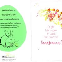 Frühlingsgruß Landfrauen Schatthausen an Mitglieder